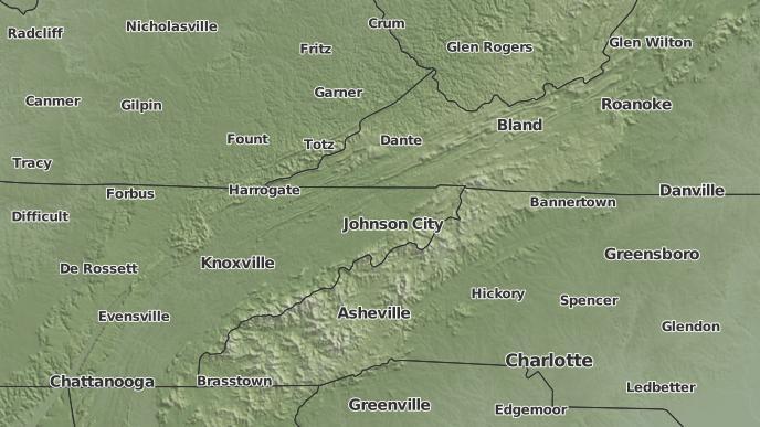 Abingdon Virginia Map.3 Day Severe Weather Outlook Abingdon Virginia The Weather Network