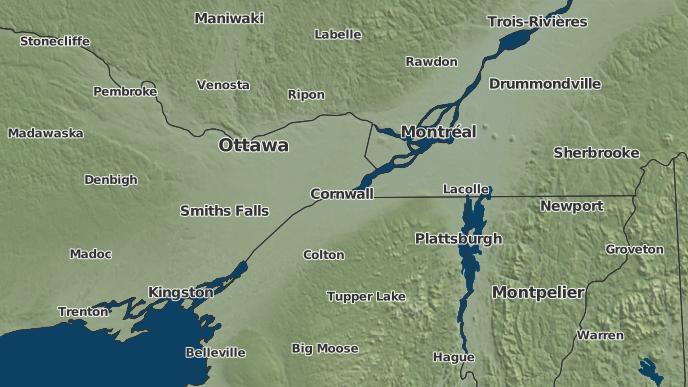 pour Chesterville, Ontario
