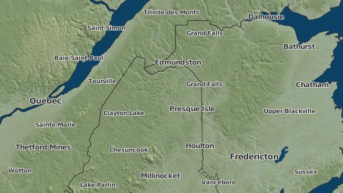 3 Day Severe Weather Outlook Limestone Maine The Weather Network
