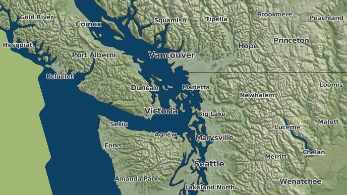 for Ganges, British Columbia