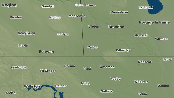 pour Arthur, Manitoba