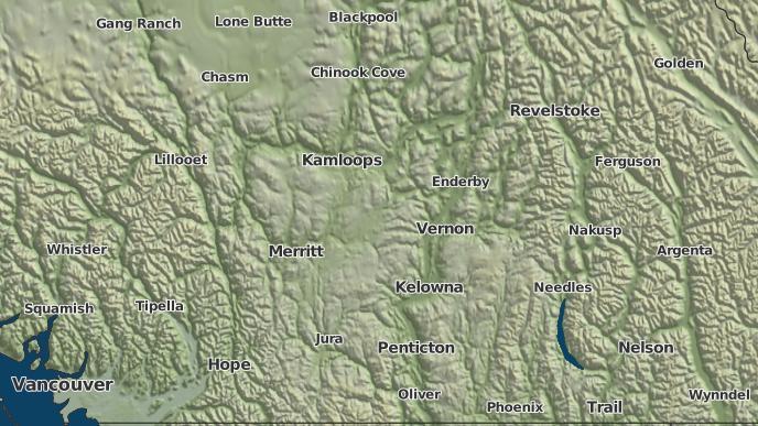 for Chapperon Lake 5, British Columbia