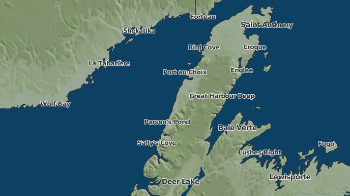 pour River of Ponds, Terre-Neuve-et-Labrador