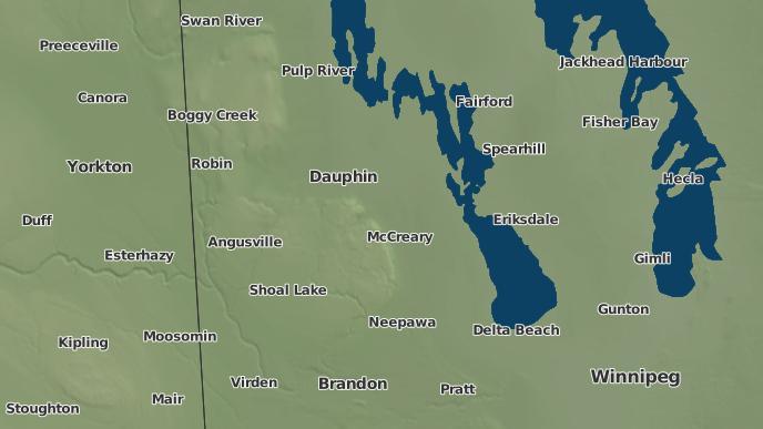 pour Alonsa, Manitoba