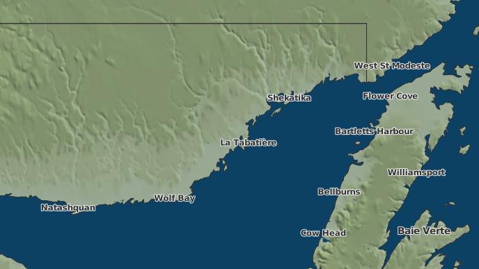 pour Gros-Mécatina, Québec