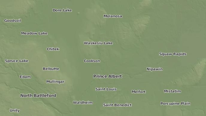 for Janow Corners, Saskatchewan