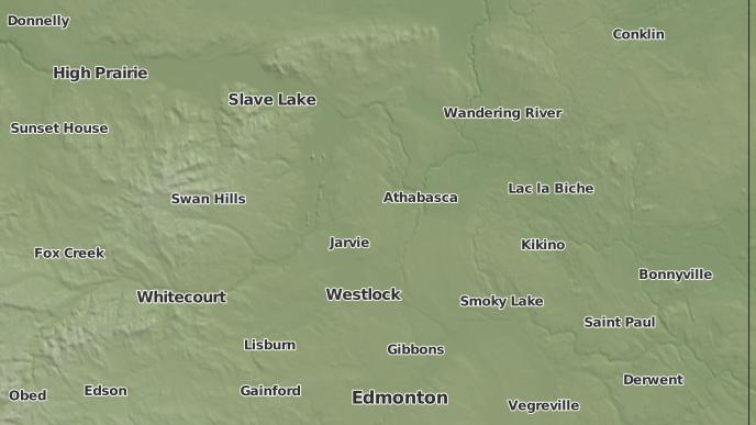for Athabasca, Alberta