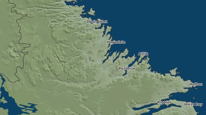 for Adlatovusek, Newfoundland and Labrador