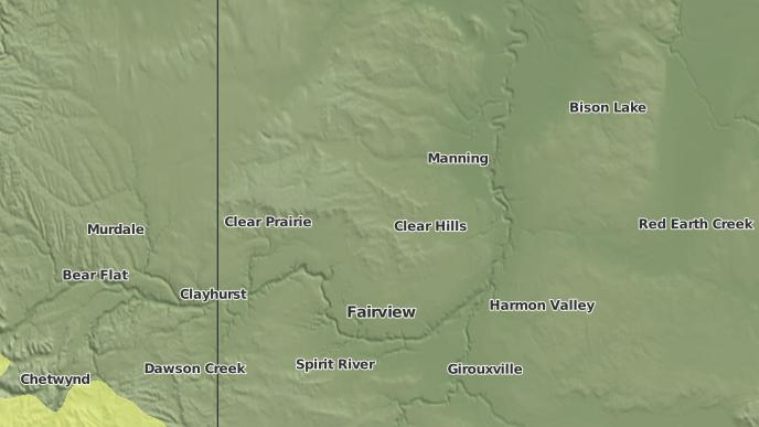 for Chinook Valley, Alberta