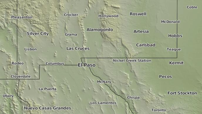for Anthony, New Mexico
