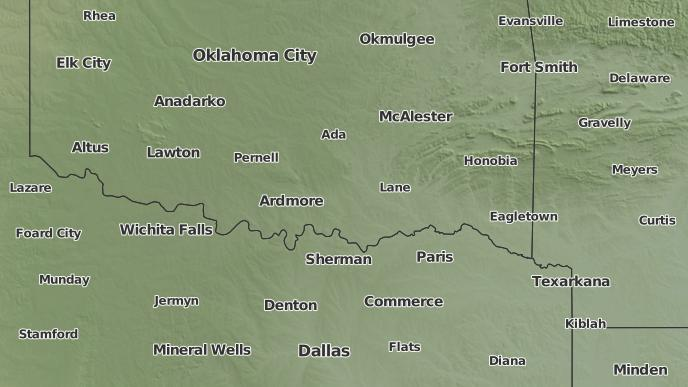 Oklahoma Wind Map.3 Day Severe Weather Outlook Atoka Oklahoma The Weather Network