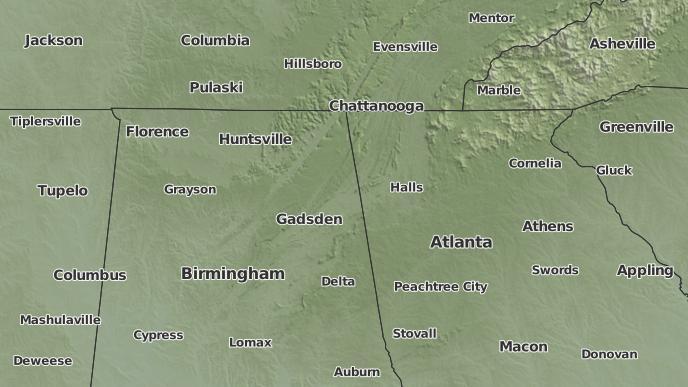 for Gadsden, Alabama