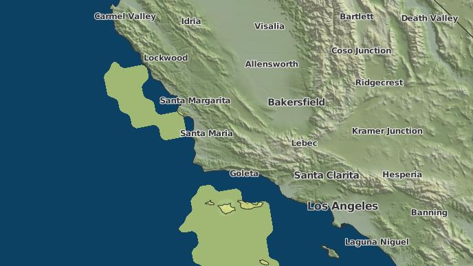 3 Day Severe Weather Outlook Solvang California The Weather Network