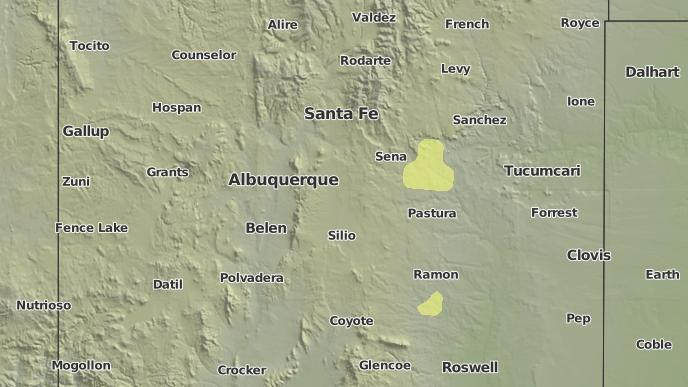 Weather Map Of New Mexico.3 Day Severe Weather Outlook Albuquerque New Mexico The Weather