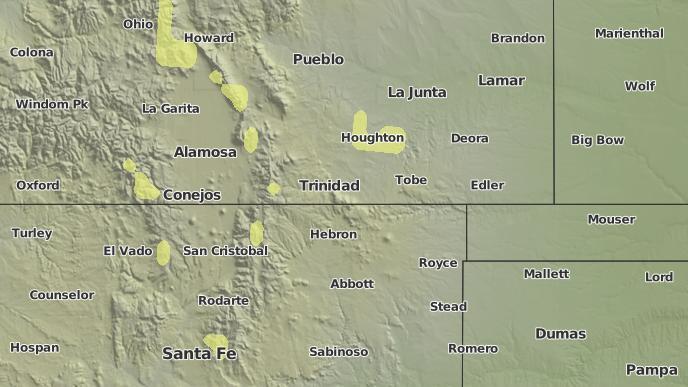 for Cuchara, Colorado