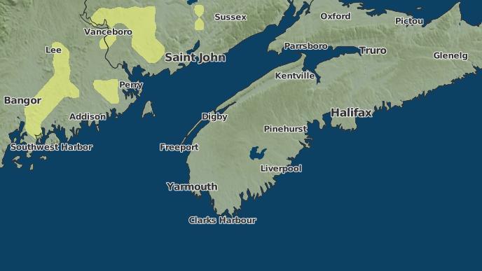 for Cornwallis, Nova Scotia