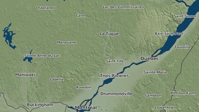 pour Grandes-Piles, Québec