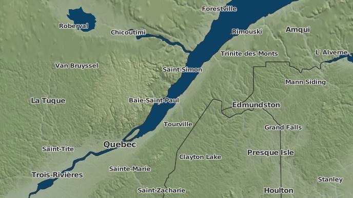 pour Eatonville, Québec