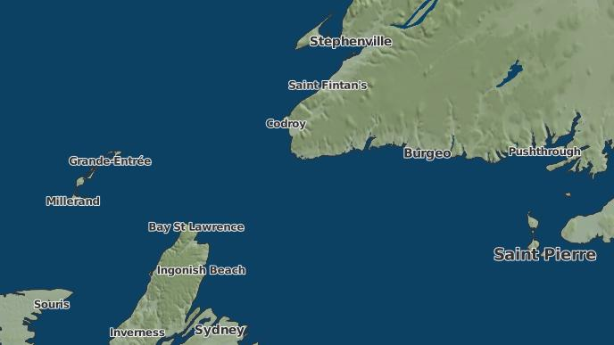 pour Red Rocks, Terre-Neuve-et-Labrador
