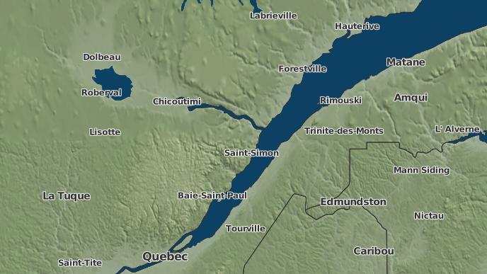 pour Petit-Saguenay, Québec