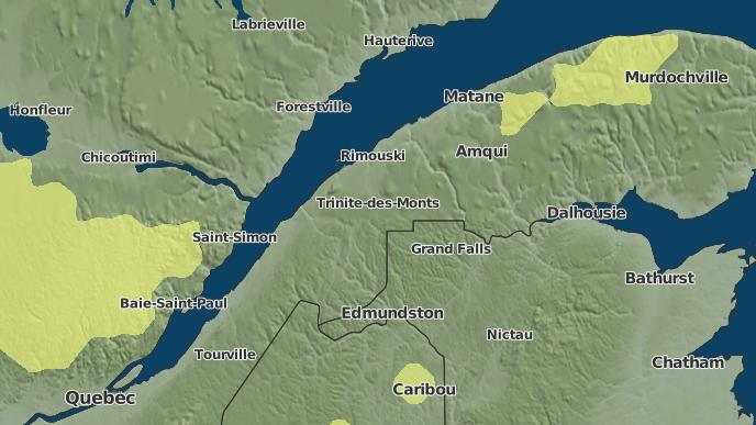 pour Auclair, Québec