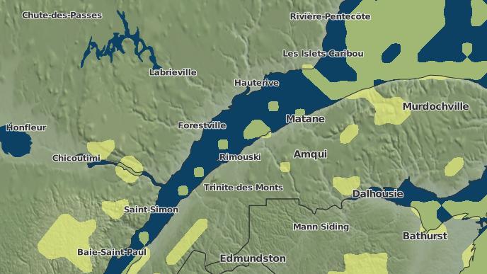 for Rivière-Hâtée, Quebec