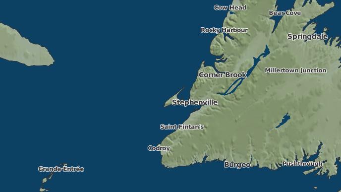 for Cape St. George, Newfoundland and Labrador