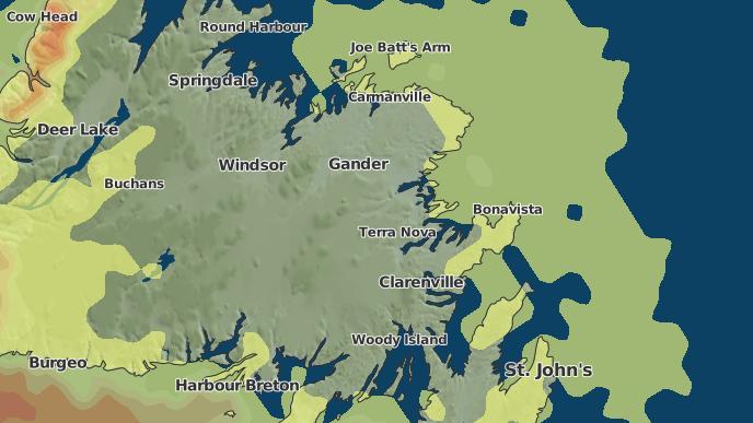 for Rosedale, Newfoundland and Labrador