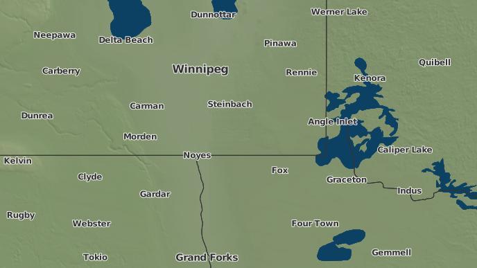 pour Overstoneville, Manitoba