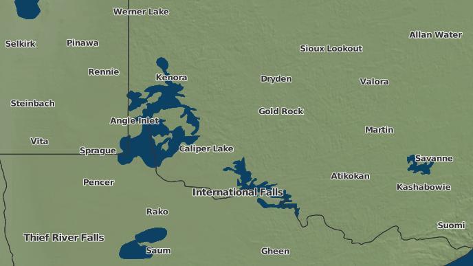 for Burditt Lake, Ontario