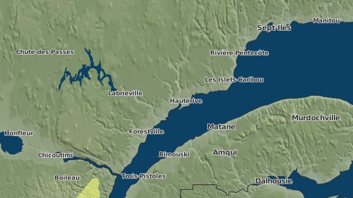 for Rivière-Bersimis, Quebec