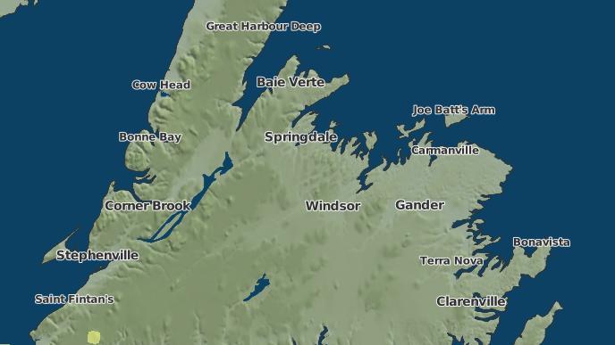 pour Grand Falls-Windsor, Terre-Neuve-et-Labrador