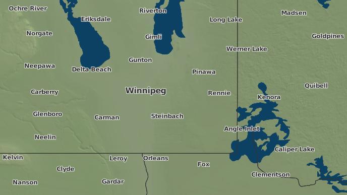 pour Tourond, Manitoba