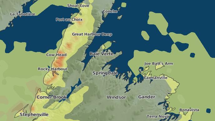 pour Wards Harbour, Terre-Neuve-et-Labrador