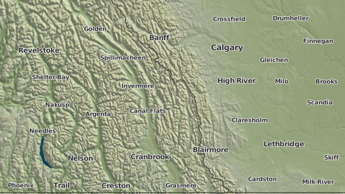 for Round Prairie, British Columbia