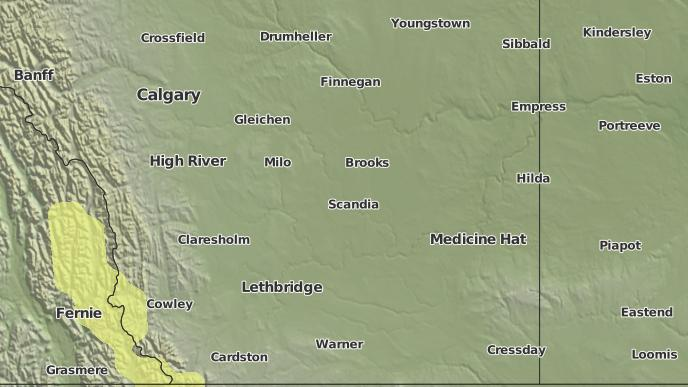 for Hays, Alberta