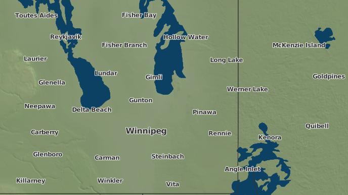 pour Allegra, Manitoba