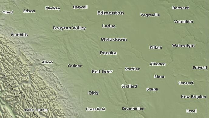 for Menaik, Alberta