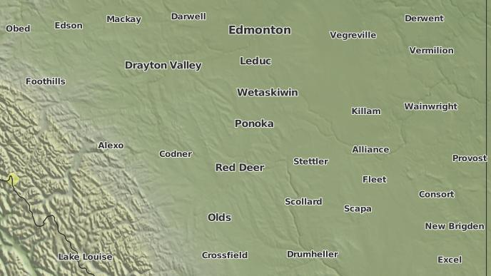 for Rosedale Valley, Alberta