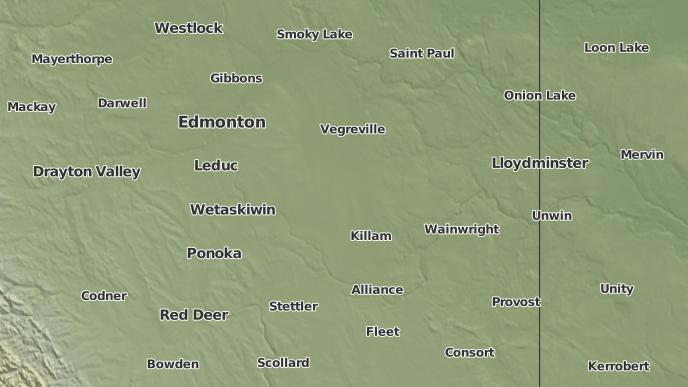 pour Ryley, Alberta