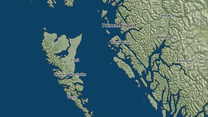 pour Dolphin Island 1, Colombie-Britannique