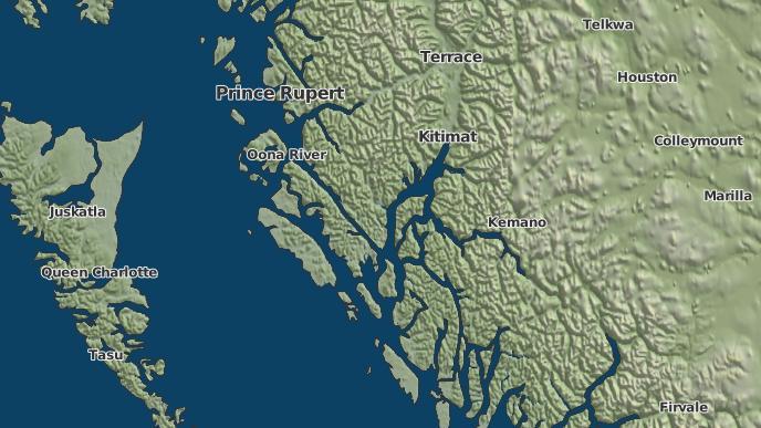 for Weewanie, British Columbia