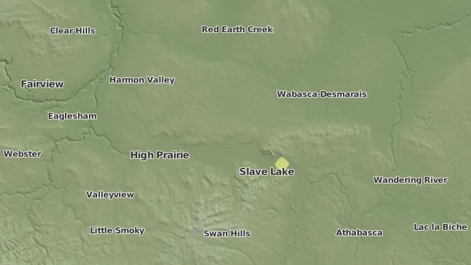 pour Assineau River 150F, Alberta