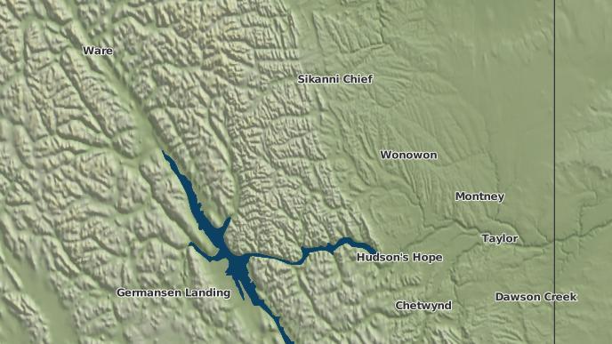 for Brady Ranch, British Columbia